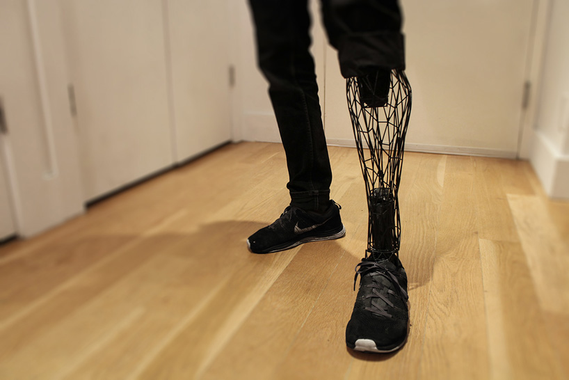 3d bio printed leg