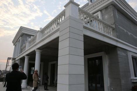 3d printed villa exterior