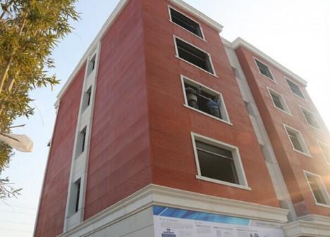 3d printing apartment