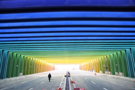 China Rainbow Tunnel 1