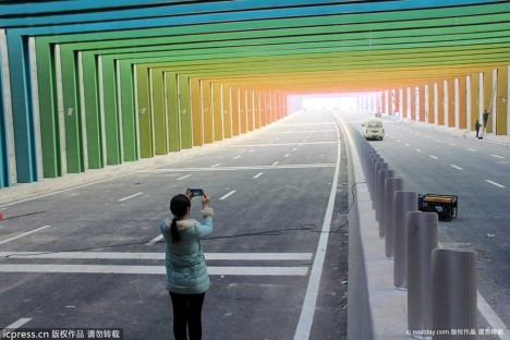 China Rainbow Tunnel 2a