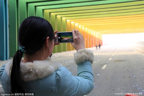 China Rainbow Tunnel 2b