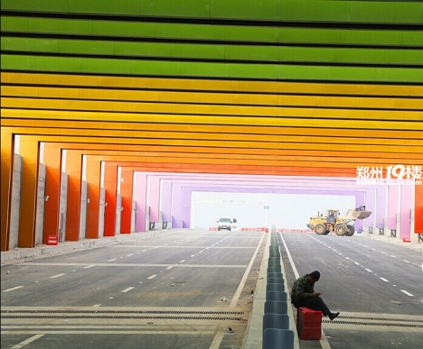 China Rainbow Tunnel 8b