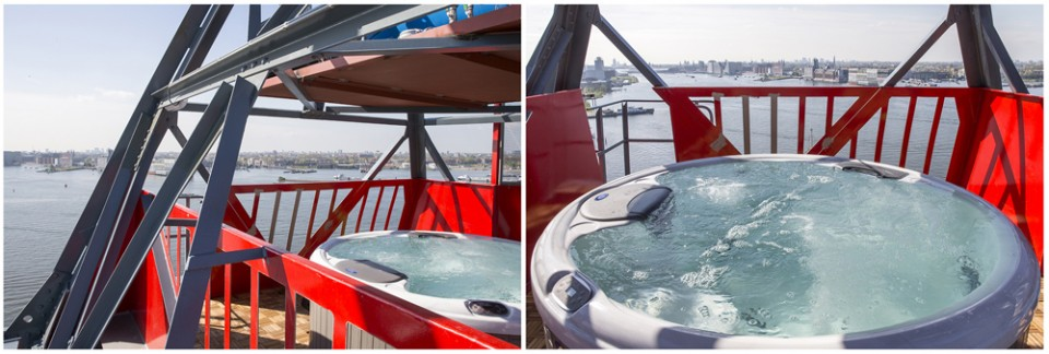 a Jacuzzi Top deck
