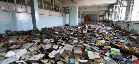abandoned library 33d