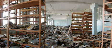 abandoned library 33e