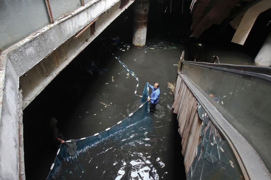 abandoned mall capture process