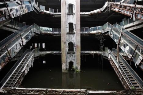 abandoned mall fish floors