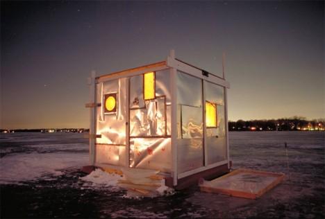 art shanty night light