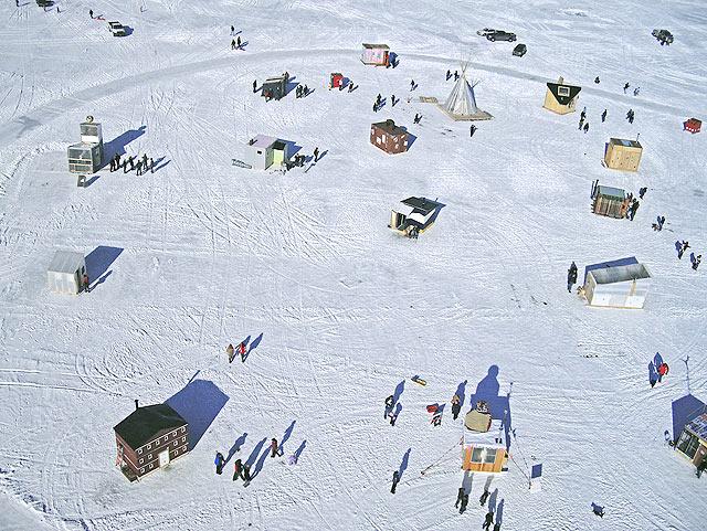 art shanty village overview