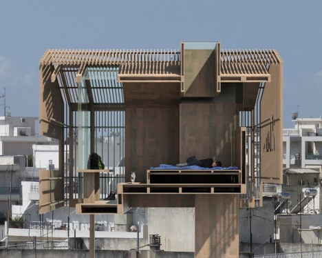 athens elevated cabin 3