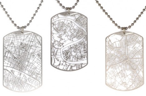 cityscape dog tags 1