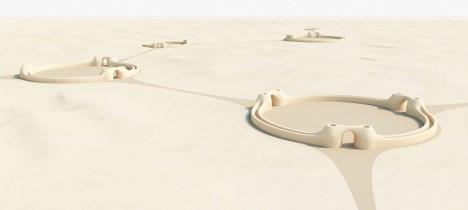 desert city streets connectors