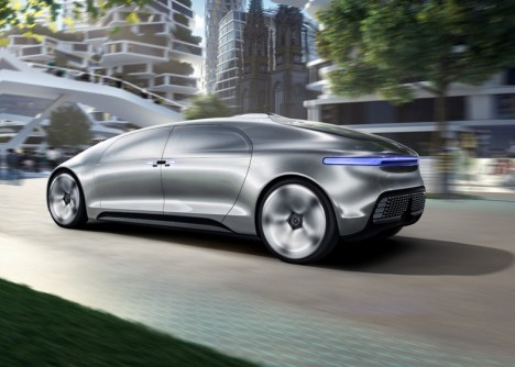 driverless car sleek look