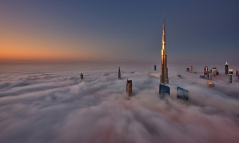dubai cryogenic sunrise