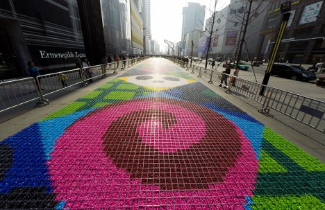 edible art candy carpet 2