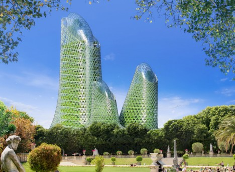green photosynthesis towers