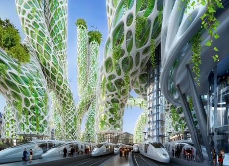 green transportation urban hub