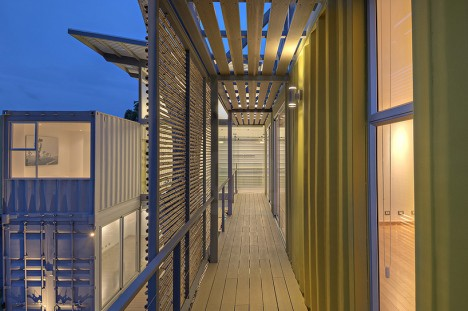 green wood bamboo halls