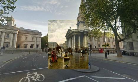 london church street montage