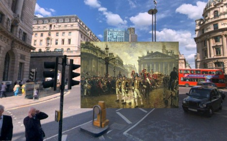 london historical painting war