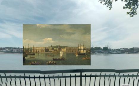 london ships boats river