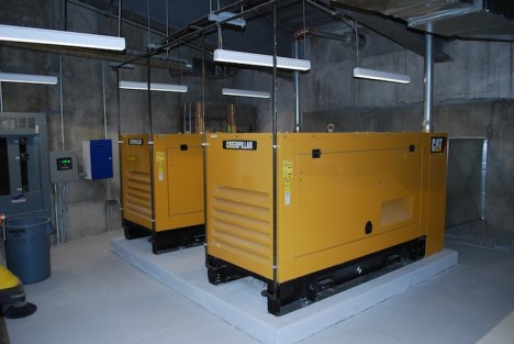 luxury silo facilities power