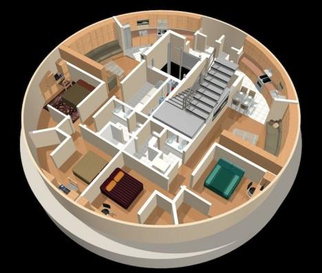 luxury silo split level
