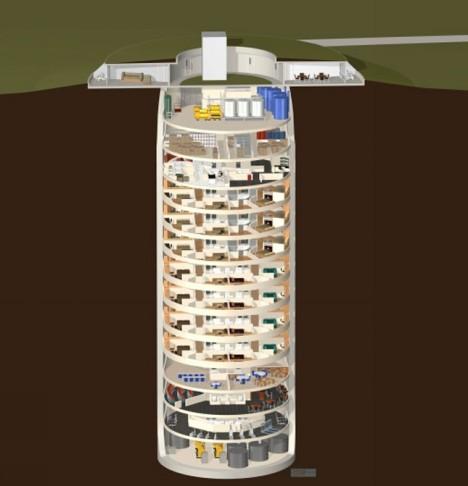 luxury subterranean underground condoes