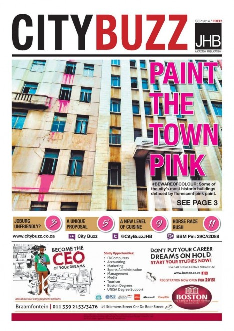 pink south africa press