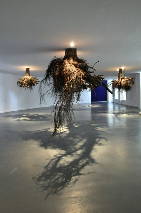 surreal art tree roots 2