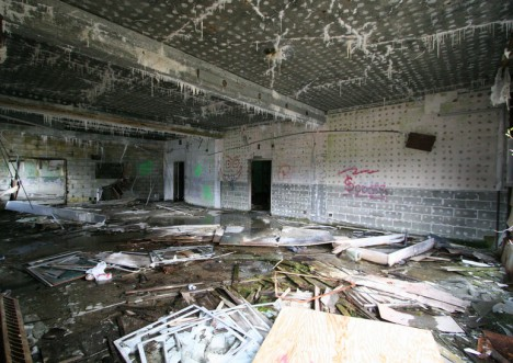 town abandoned buckner building