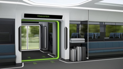 transfer train passenger idea