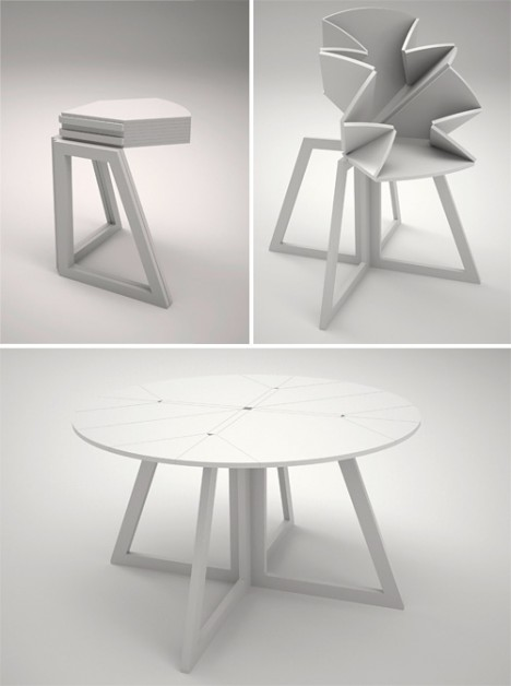 Transforming Tables 16 Smart Space Saving Surface Designs