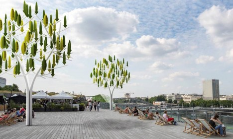 urban wind tree generator
