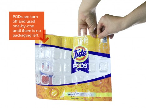 wasteless dishwasher pods package
