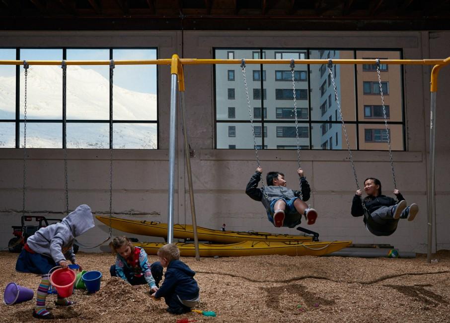 whittier alaska indoor playground