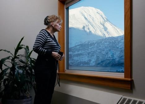 whittier alaska window view