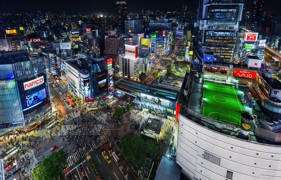 Cyberpunk City Reframing Tokyo As A Futuristic Wonderland