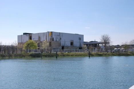 abandoned Meridian TV studios 2