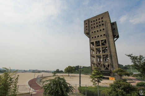abandoned Shime winding tower Japan 1a