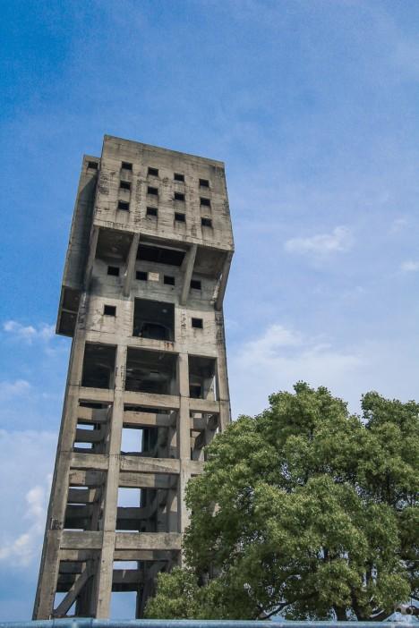 abandoned Shime winding tower Japan 1b