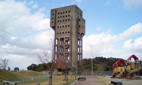abandoned Shime winding tower Japan 1f