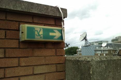 abandoned TV station BBC TVC 4