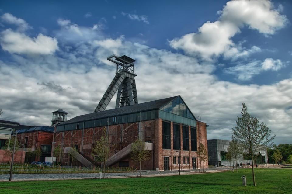 abandoned mine winding tower Belgium 1c