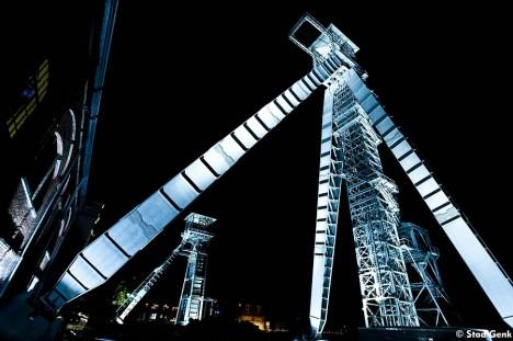 abandoned mine winding tower Belgium 1e