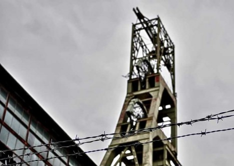 abandoned mine winding tower Clipstone 4a