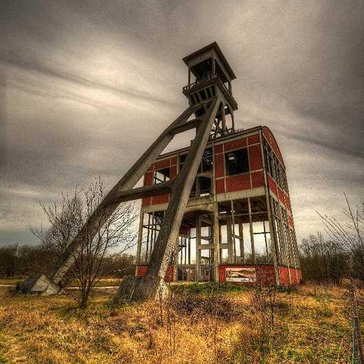 Shafted: 10 Eerie Unused & Abandoned Mine Winding Towers