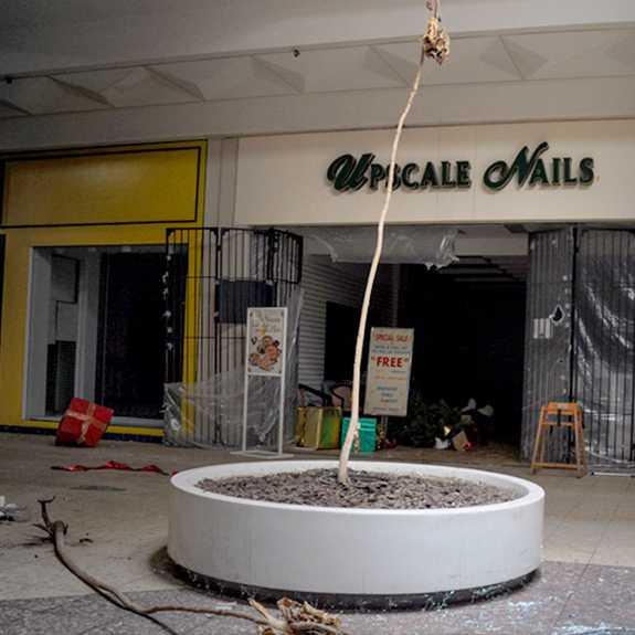 Gala Nail Bar: Scratched Out: Nine Nifty Closed & Abandoned Nail Salons