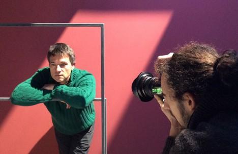 artificial light photo shoot
